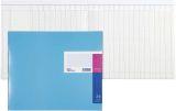 Spaltenbuch in Kopfleisten-Ausführung - 348 x 257 mm, 26 Spalten