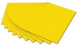Fotokarton - A4, gelb