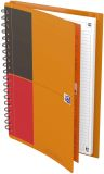 Meetingbook Connect - 2:1 Collegeblock und Gummizugmappe, B5, liniert, 80 Blatt, 4 Eckmarkierungen zum scannen