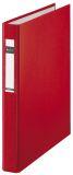 4210 Ringbuch Maxi - A4, 25mm, 2 Ringe, PP, rot