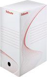 Ablagebox Top Archiv System, weiß/rot