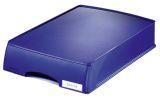 5210 Briefkorb Plus mit Schublade, A4 quer, Polystyrol, blau