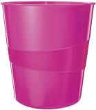 5278 Papierkorb WOW - 15l. Polystyren. pink metallic