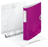 4240 Ringbuch Active WOW, A4, Polyfoam, 4 Ringe, 30 mm, pink