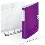 4240 Ringbuch Active WOW, A4, Polyfoam, 4 Ringe, 30 mm, violett