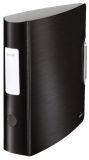 1108 Ordner Active Style A4 - 82 mm, satin schwarz