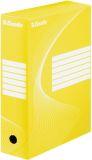 Archiv-Schachtel - DIN A4, Rückenbreite 10 cm, gelb