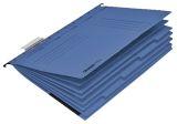 Personalhefter - Karton, DIN A4, 5fach-Register, blau