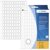 2310 Vielzwecketiketten weiß 8x12 mm Papier matt 3840 St.