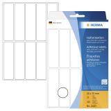 2420 Vielzwecketiketten weiß 20x75 mm Papier matt 320 St.