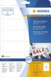 10010 Etiketten A4 weiß 88,9x46,6 mm Movables/ablösbar Papier matt 300 St.