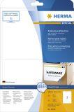 10020 Etiketten A4 weiß 199,6x143,5 mm Movables/ablösbar Papier matt 50 St.