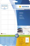4200 Etiketten Premium A4, weiß 48,3x33,8 mm Papier matt 800 St.
