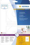 5079 CD-Etiketten A4 weiß Ø 116 mm Papier matt blickdicht 50 St.