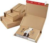 Klassische Versandverpackung zum Wickeln 217x155x60 mm (A5), braun