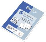 SECURITEX® Faltentasche B4, 130 g/qm, haftklebend, 5 Stück