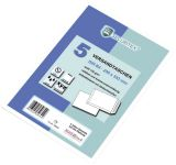 SECURITEX® Versandtasche B4, ohne Fenster, 130 g/qm, haftklebend, 5 Stück