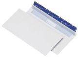 Briefumschlag 114x229mm, haftkebend, weiß, Offset 100g, 500 Stück