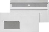 Briefumschläge DIN lang (220x110 mm), mit Fenster, selbstklebend, 72 g/qm, 1.000 Stück