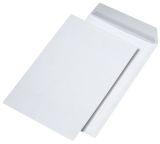 Versandtaschen C4, blickdicht, ohne Fenster, haftklebend, 120 g/qm, weiß, 250 Stück