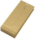 Musterbeutel 100x245x40 mm, 120 g/qm, braun, 250 Stück