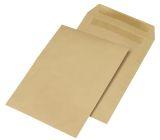 Versandtaschen B4, ohne Fenster, selbstklebend, 110 g/qm, braun, 250 Stück