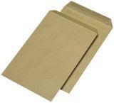 Versandtaschen C4 , ohne Fenster, selbstklebend, 90 g/qm, braun, 250 Stück