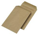 Versandtaschen C5, ohne Fenster, selbstklebend, 90 g/qm, braun, 500 Stück