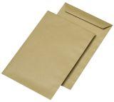 Versandtaschen C5, ohne Fenster, gummiert, 90 g/qm, braun, 500 Stück