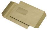 Versandtaschen C5, mit Fenster, selbstklebend, 90 g/qm, braun, 500 Stück