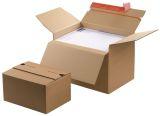 Blitzbodenkarton - 238x170x60-130 mm, sk, braun, höhenvariabel
