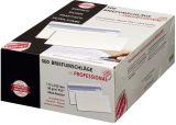 Briefumschlag - 112 x 225 mm, o. Fenster, weiß,  90 g/qm, Innendruck, Revelope-Klebung, 500 Stück