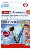 Powerstrips® Large - ablösbar, Tragfähigkeit 1 kg, transparent