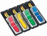 Index Pfeile Typ 684 - 11,9 x 43,2 mm, Grundfarben: blau, gelb, grün, rot