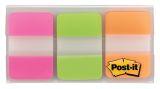 Haftstreifen Index Strong, 25,4 x 38 mm, Leuchtfarben, 3 x 22 Streifen