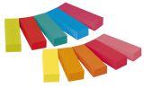 Haftstreifen Page Marker schmal, 12,7x 44,4mm, farbig sortiert, 10 x 50 Blatt