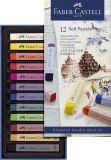 Creative Studio Softpastellkreide, 12 Farben sortiert im Kartonetui