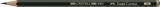 Bleistift CASTELL® 9000 - 5B, dunkelgrün