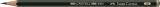 Bleistift CASTELL® 9000 - 4B, dunkelgrün