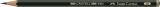 Bleistift CASTELL® 9000 - 3B, dunkelgrün