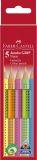 Buntstift Jumbo GRIP Neon - 5 Farben sortiert, Kartonetui