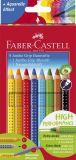 Buntstift Jumbo GRIP - 8 Farben, Namensfeld- und Bleistift im Promotionetui