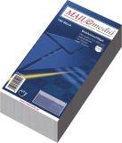 Briefumschläge DIN lang (220x110 mm), mit Fenster, selbstklebend, 72 g/qm, 100 Stück