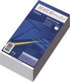 Briefumschläge DIN lang (220x110 mm), ohne Fenster, selbstklebend, 72 g/qm, 100 Stück