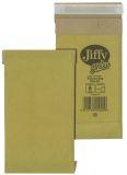 Jiffy Größe 00 - 120 x 229mm, braun, 10 Stück