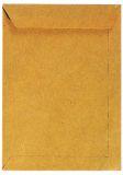 Versandtaschen B4, ohne Fenster, gummiert, 110 g/qm, braun, 10 Stück