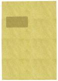 Versandtaschen C4 , mit Fenster, selbstklebend, 90 g/qm, braun, 10 Stück