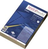 Versandtaschen C5 (162x229 mm) ohne Fenster, selbstklebend, 90 g/qm, braun, 50 Stück