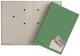 Unterschriftsmappe Color - 20 Fächer, PP kaschiert, grün