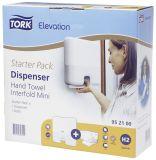 Elevation Starter Pack Handtuchspender Interfold Mini, weiß
